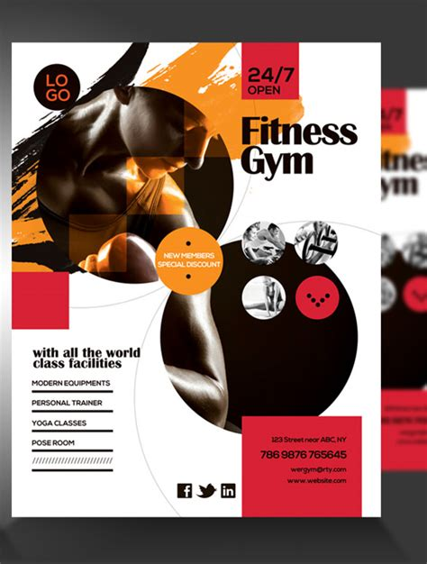 36+ Fitness Flyer Templates - Word, PSD, AI Formats | Free