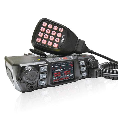 BTECH Mobile GMRS-50X1 50 Watt GMRS Two-Way Radio, GMRS