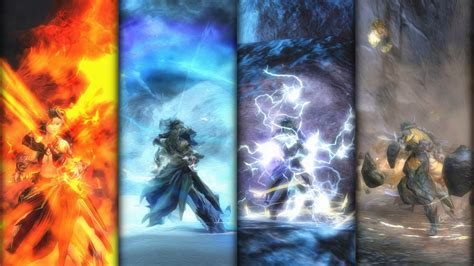 The Elements are at my Control - Elementalist Wallpaper