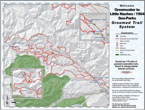 Greenwater To Little Naches Sno Park - Maplets