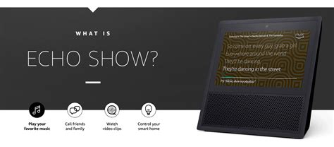 Amazon Echo Show is a $229 touchscreen assistant for your