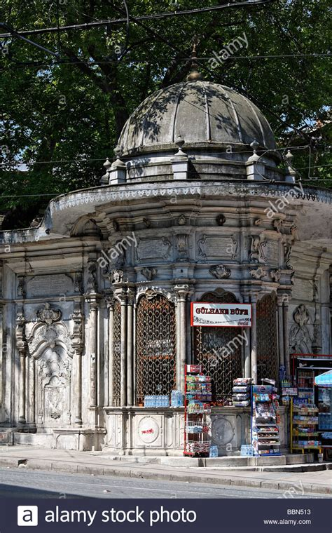 Historical kiosk in the Ottoman Baroque style, Sultanahmet