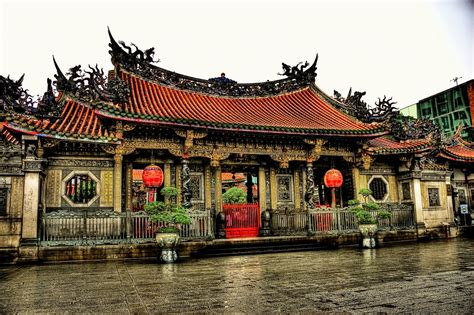 Longshan Temple, Taiwan jigsaw puzzle in Puzzle of the Day