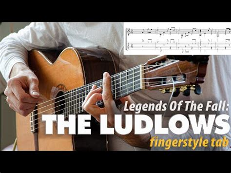 THE LUDLOWS [Legends Of The Fall] Fingerstyle Guitar TAB