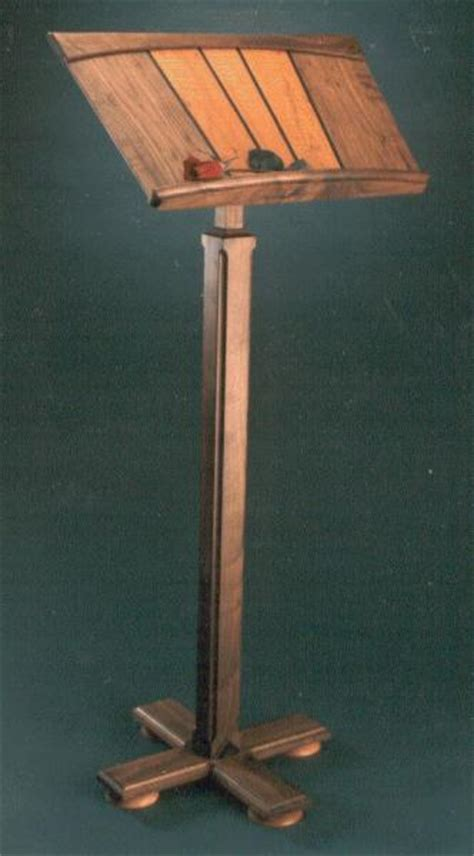 Wood - Music Stand Plans | How To build an Easy DIY