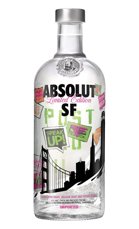 40 Absolut Vodka Bottles With Stunning Design - Page 2 of
