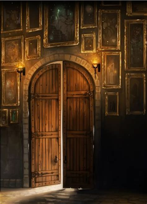 Hogwarts Main Doors & I Also Decided To Test Tomb Making