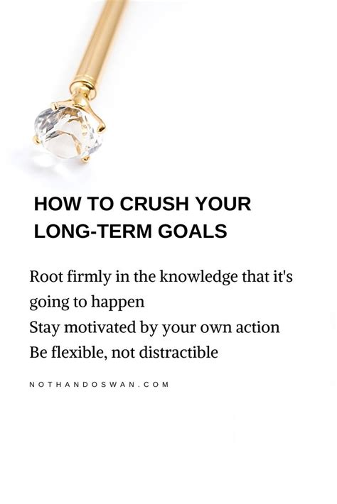 How to Crush Your Long-Term Goals