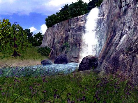 3D Living Waterfall Screensaver - Download Animated 3D