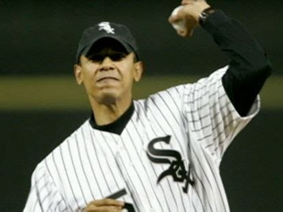 President Obama Throws His First Presidential First Pitch