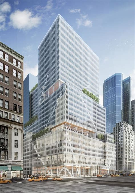 L&L's 32-Story Redevelopment of 390 Madison Avenue Tops