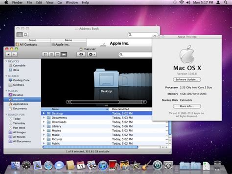 Cats On The Prowl: The Evolution of Mac OS X From Cheetah