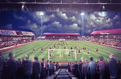 Middlesbrough - Remembering Ayresome Park - 20 x 30 Box Canvas