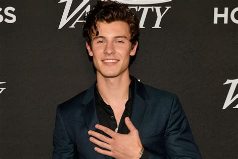Shawn Mendes Reveals His Celebrity Crush