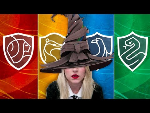 Pottermore Sorting Hat Ceremony - YouTube