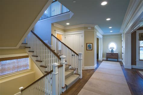 Stair Hall - Traditional - Staircase - DC Metro - by Sroka