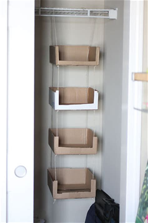 Paige B Photography Blog - home - Recycled Cardboard Storage