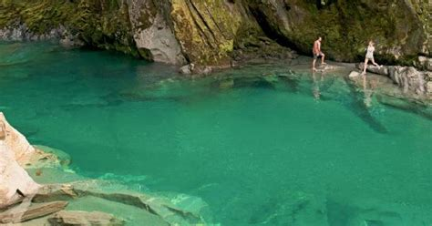The Blue Pools of Haast Pass | AA New Zealand