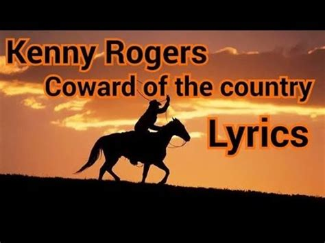 Kenny Rogers - Coward of the County (1979 Music Video