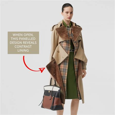 Burberry Trench Coat Details - The Cutting Class