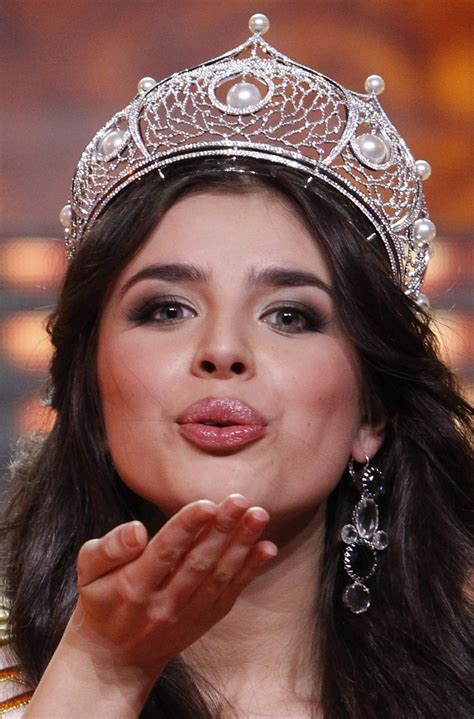 Miss Russia Subjected to Online Racist Abuse