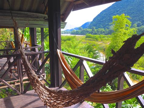 Riverview Bungalows Review | Muang Ngoi | Laos - Wade and