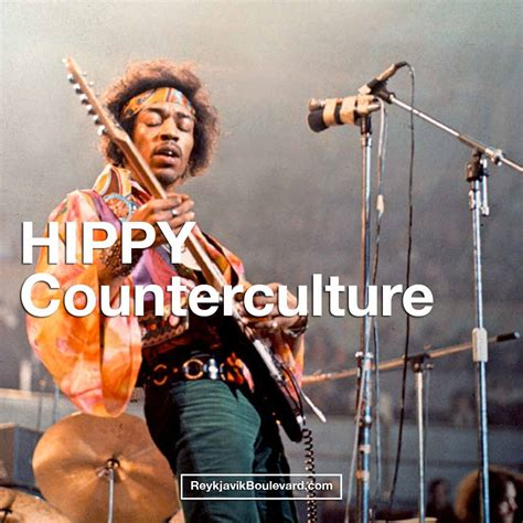 """HIPPY COUNTERCULTURE: Or how """"Hipster"""" Movement influenced"""