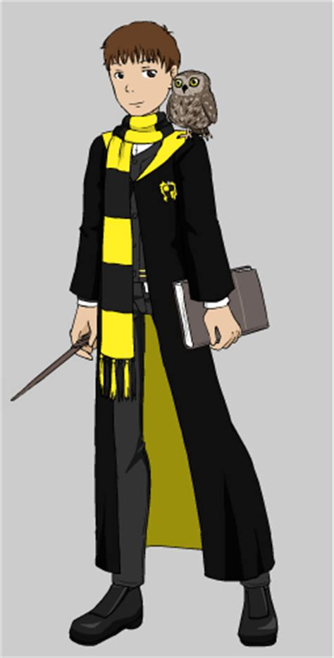 Me as a Hogwarts student in Hufflepuff by ericcartman1 on