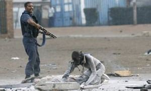 South Africa gangs kill foreigners | World news | The Guardian