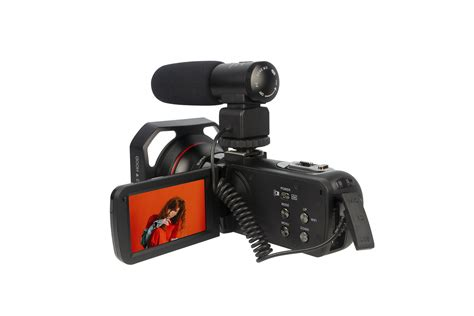 High Definition Digital Camcorder 4k Wifi 3inch Touch