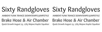 Sans Serif Fonts with Lowercase Spurless 'a' | TYPECACHE