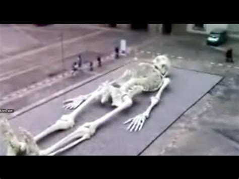Skeleton Of Giant Nephilim Recently Discovered!! - YouTube