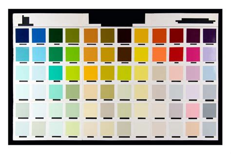 Peter Atkins / work / DECONSTRUCTED COLOUR CHARTS 2019