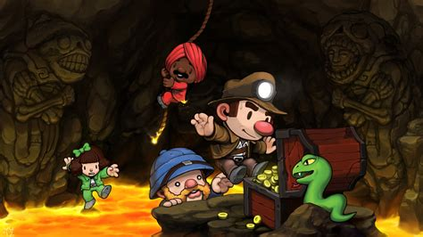 Spelunky Update Brings New PS4, PS3, PS Vita Features